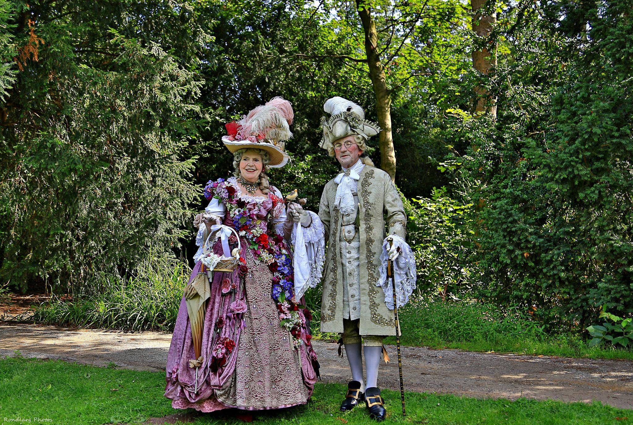 Облекло в стил барок