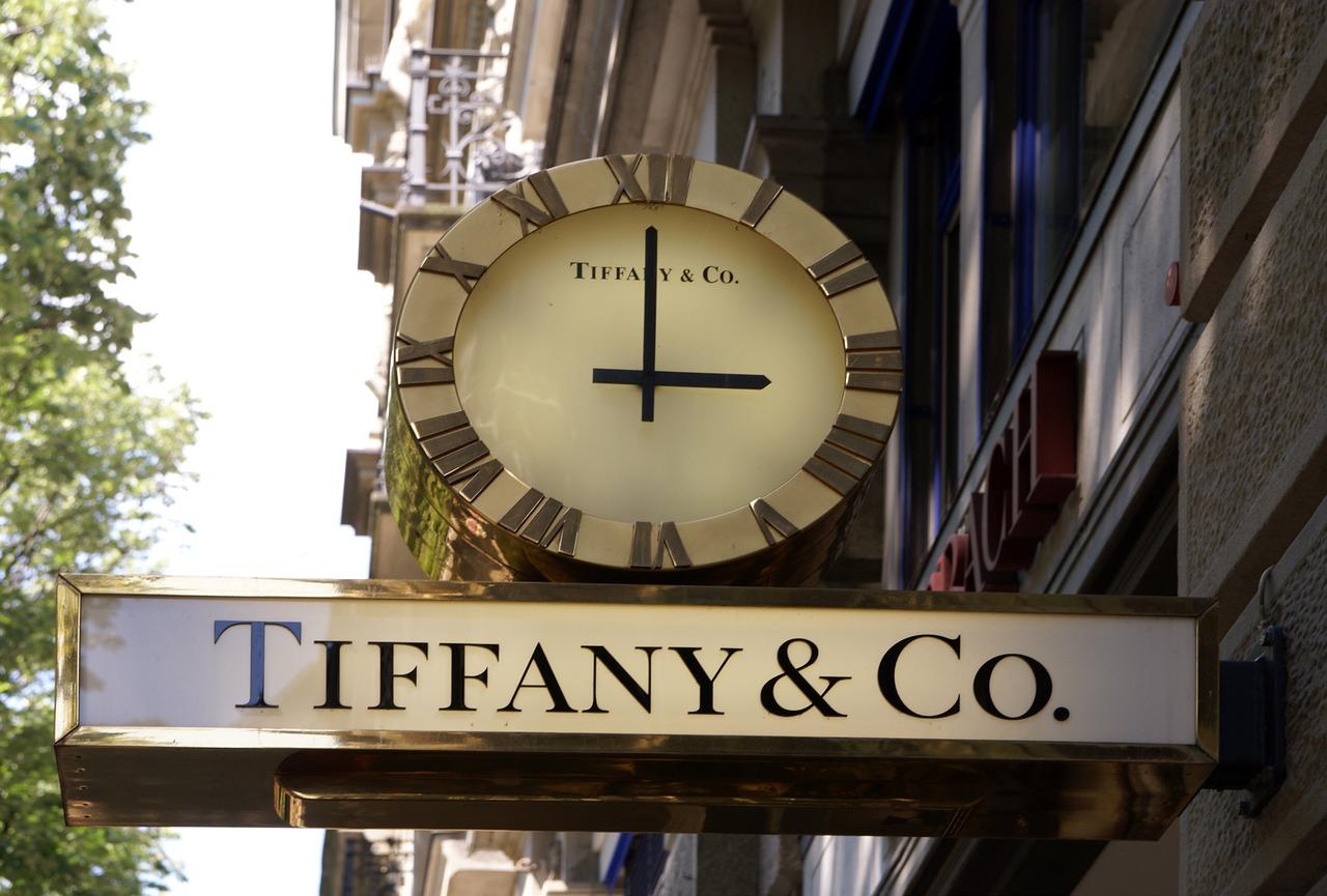 Тифани има над 150 магазина в целия свят.