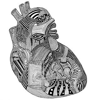 Анатомически сърцето не прилича на символа