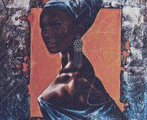 Африканка с дхуку