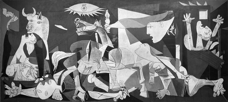 """""""Герника"""" на Пикасо, 1937г"""