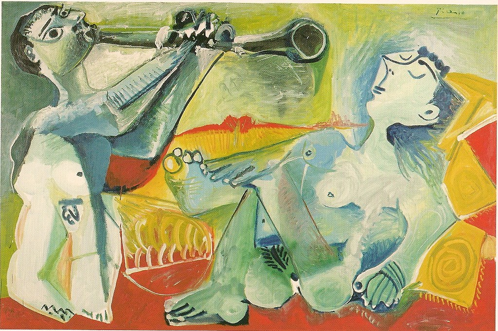 """Серенада"" 1965г, Пикасо"
