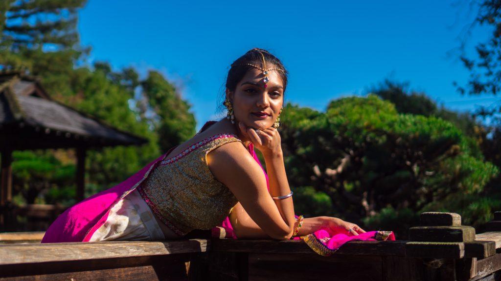 Тика - индийски пендант, носен на челото