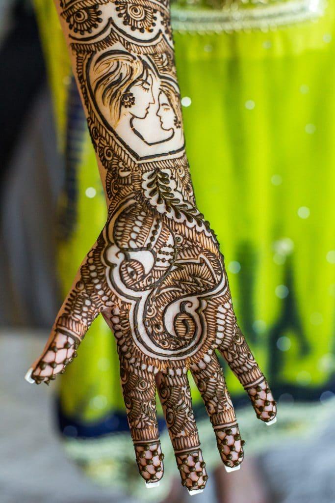 Мехенди - временна татуировка