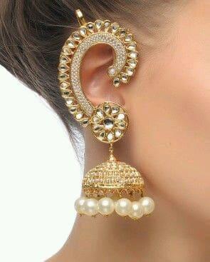 Обеци в индийски стил