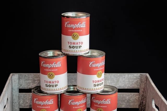 Доматената супа, вдъхновила Уорхол