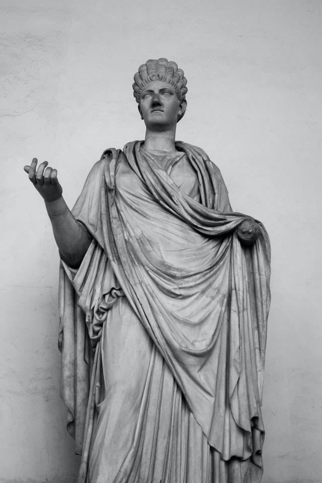 Типично облекло за древна римлянка