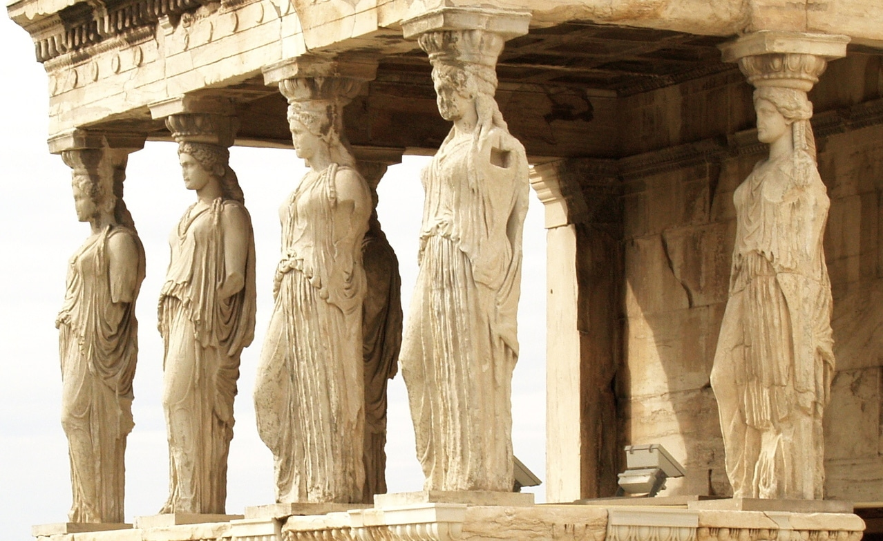 Древна Гърция статуи