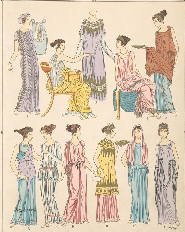 Ето как са се обличали жените в Древна Гърция